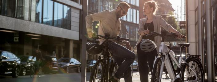 Stevens elektromos városi kerékpár