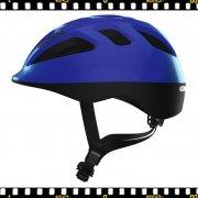 abus smooty kék kerékpáros bukósisak oldalról