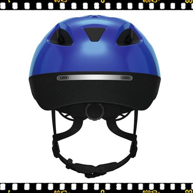 abus smooty kék kerékpáros bukósisak hátulról