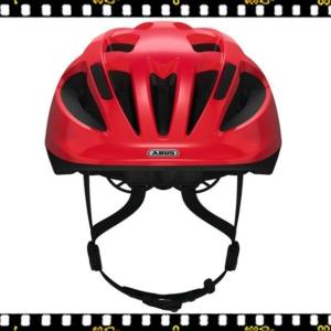 abus smooty piros kerékpáros bukósisak előről