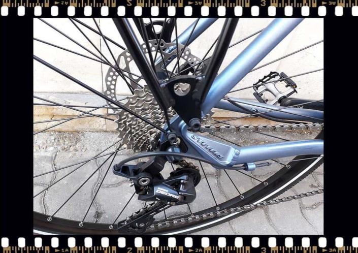 stevens 6x tour trekking kerékpár hátsó váltó