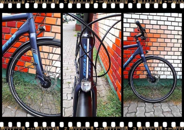 stevens 7x lite tour bicikli első lámpával