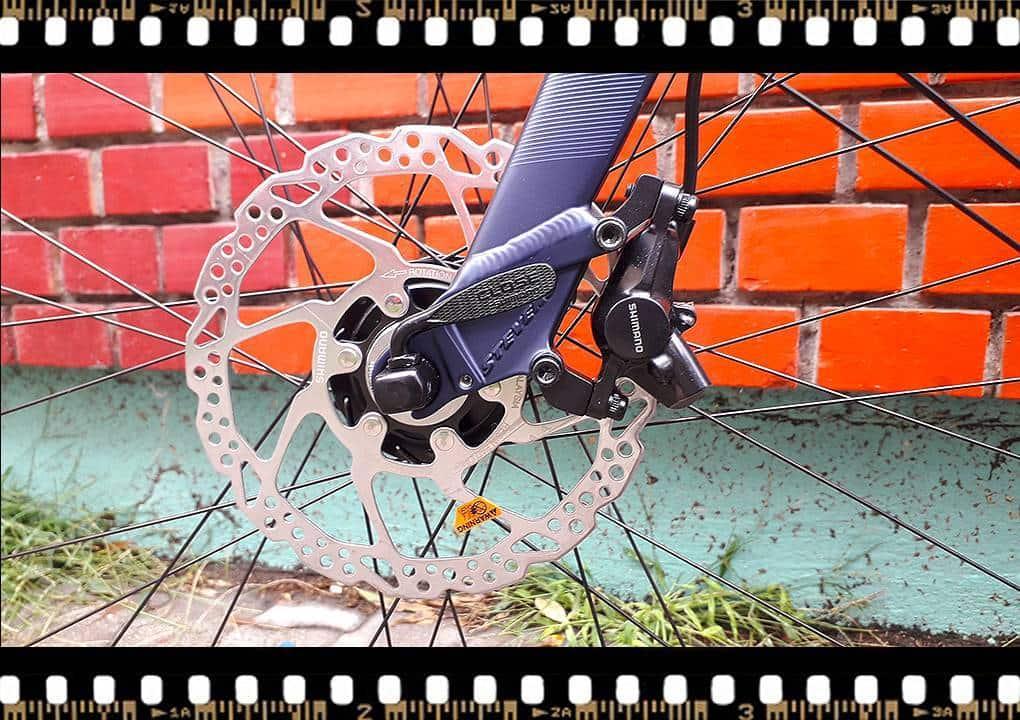 stevens 7x lite tour bicikli első fék