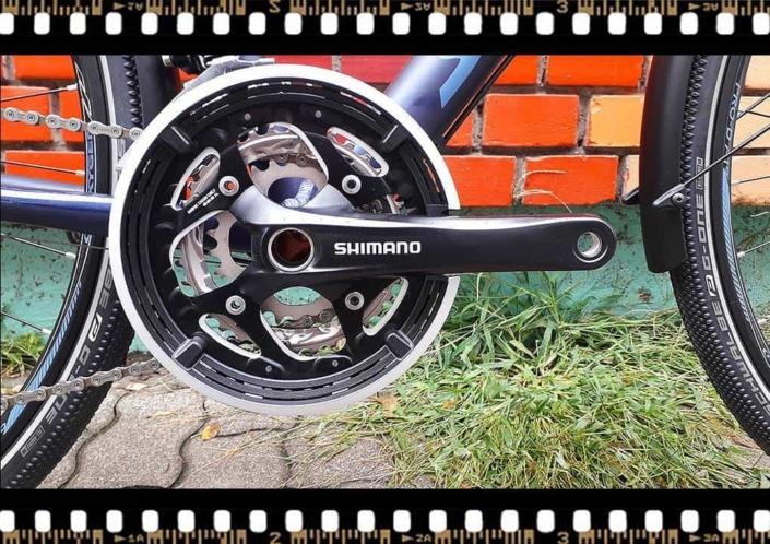 stevens 7x lite tour bicikli hajtómű