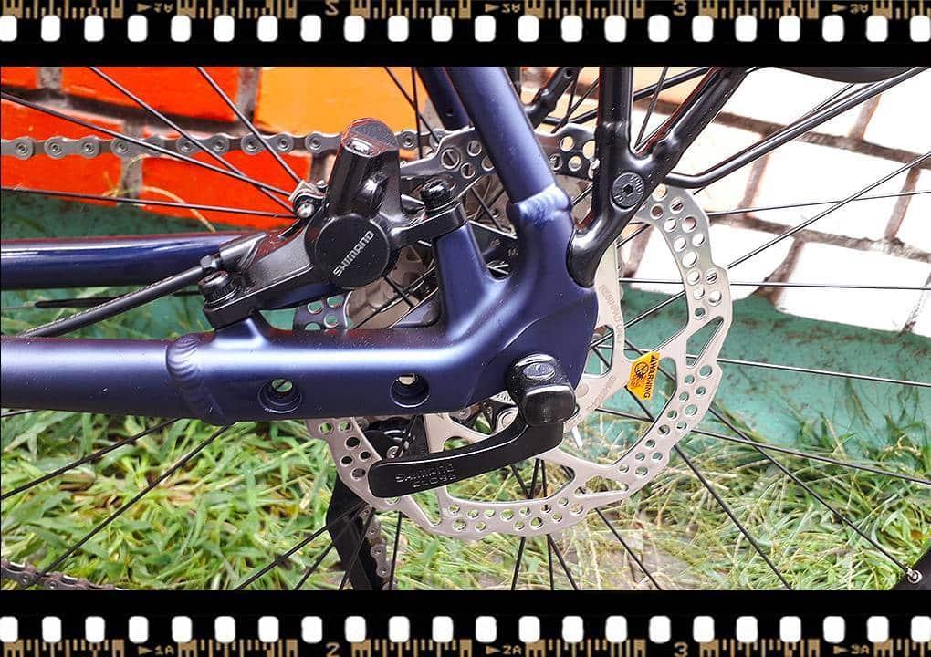 stevens 7x lite tour bicikli hátsó tárcsafék