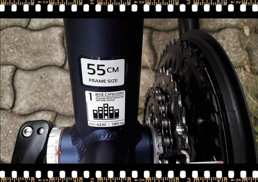 stevens 7x lite tour bicikli 55-ös méretben
