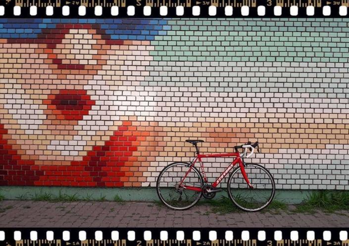 Stevens San Remo piros országúti kerékpár