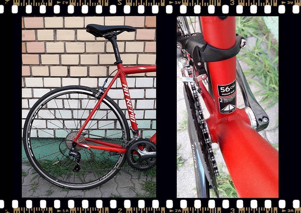 Stevens San Remo országúti kerékpár váz méret