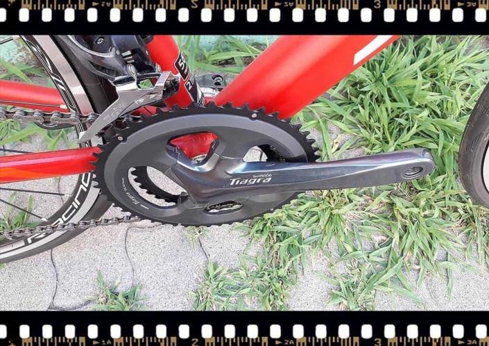 Stevens San Remo országúti kerékpár hajtókar