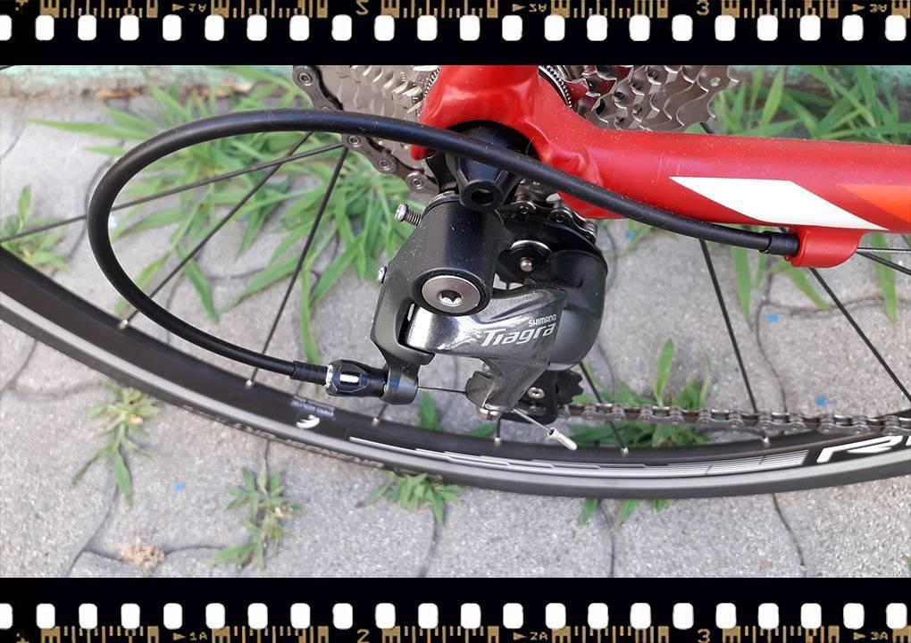 Stevens San Remo országúti kerékpár Tiagra váltó