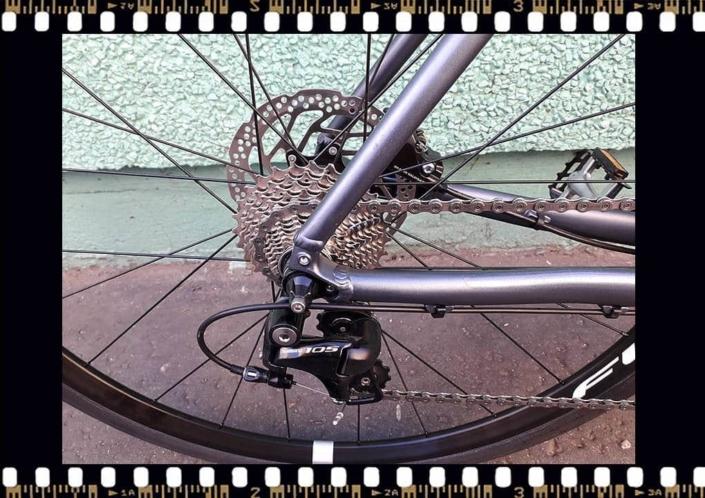 stevens strada 800 trekking kerékpár hátsó kerék