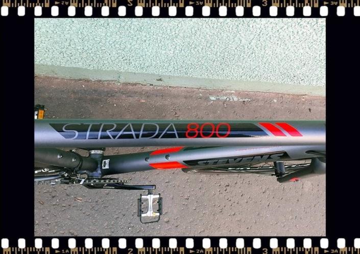 stevens strada 800 trekking kerékpár váz névvel
