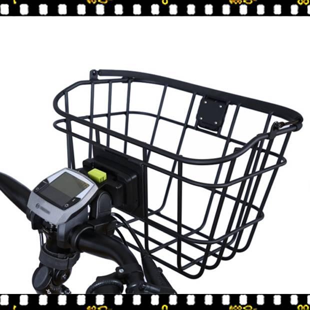 basil bremen nordlight fém első biciklis kosár felszerelve