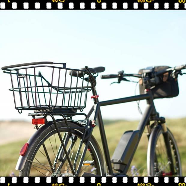 basil cento alu multi bicikli kosár hátsó csomagtartón