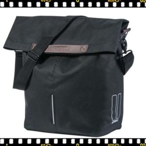 basil city shopper fekete bicikli táska