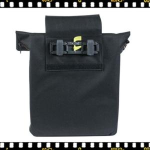 basil city shopper fekete bicikli táska akasztóval