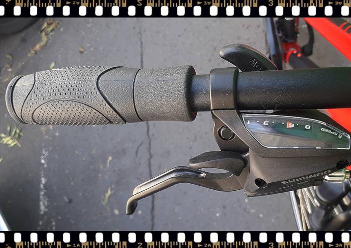 stevens albis piros női trekking kerékpár hátsó váltókar