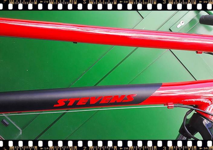 stevens albis piros női trekking kerékpár váz