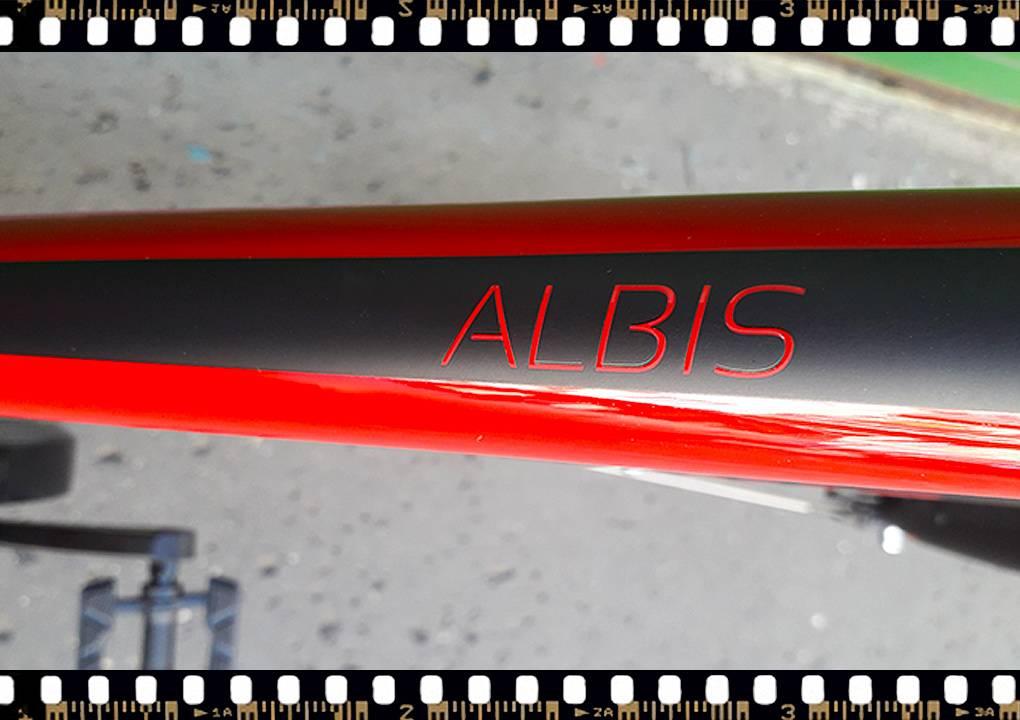 stevens albis piros női trekking kerékpár váz név