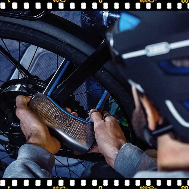 abus smartx 770a kerékpár lakat biciklivel