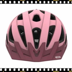 abus urban-i 2.0 pink kerékpáros bukósisak elöl