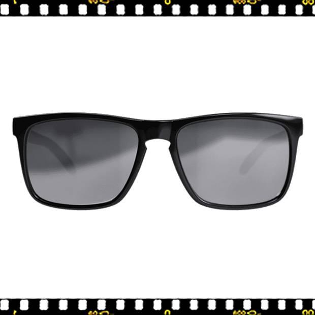 bbb town bsg-56 fényes fekete biciklis szemüveg elöl