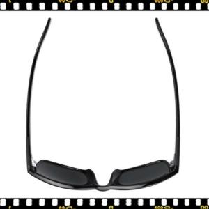 bbb town bsg-56 fényes fekete biciklis szemüveg felül