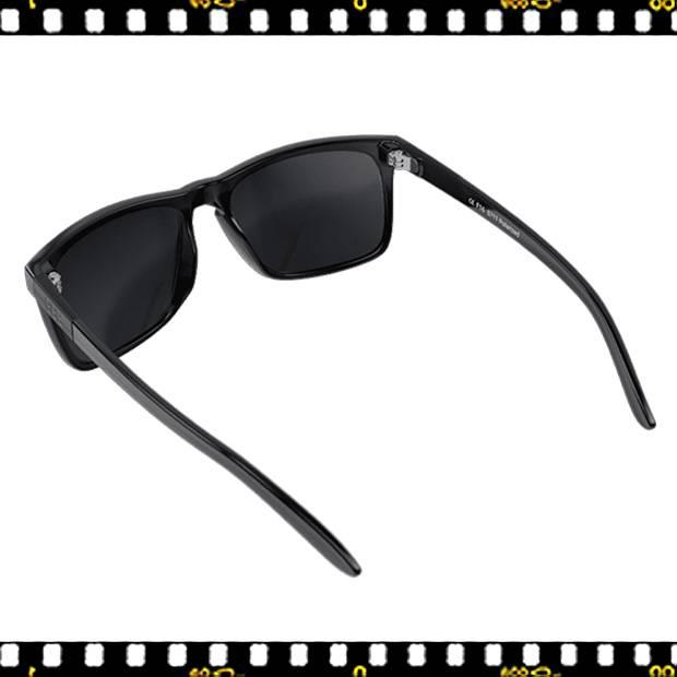 bbb town bsg-56 fényes fekete biciklis szemüveg hátul