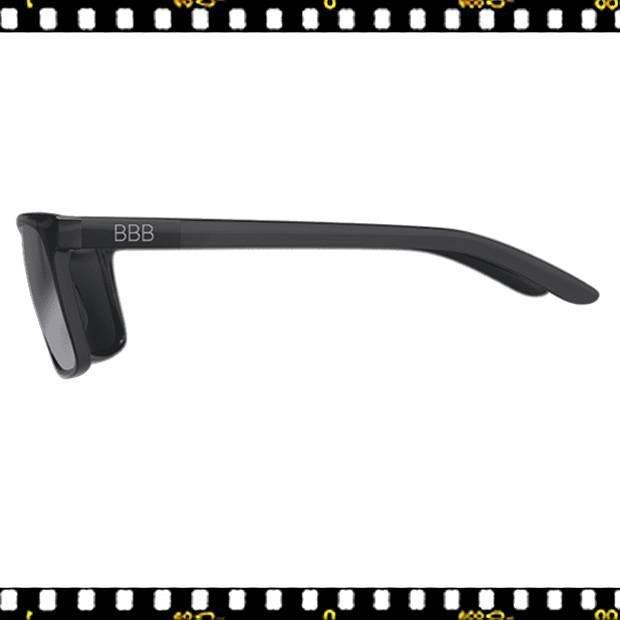 bbb town bsg-56 fényes fekete biciklis szemüveg oldalt