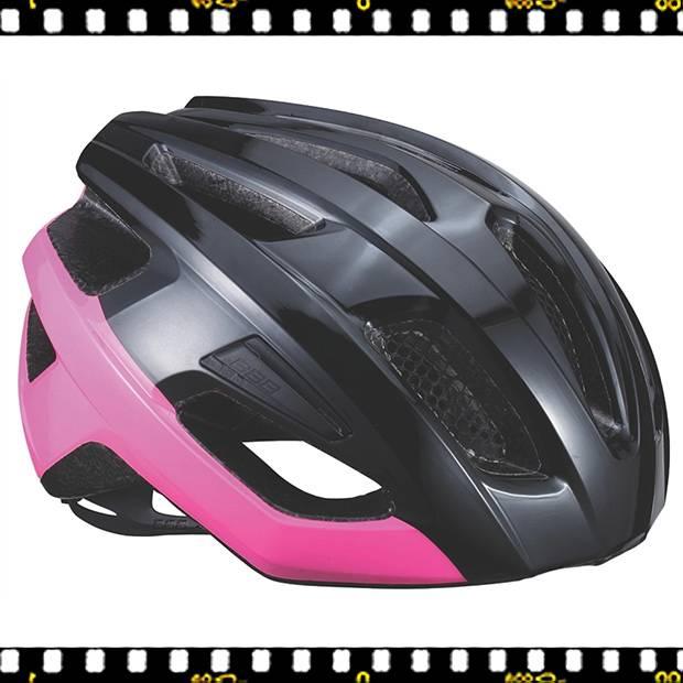 bbb kite bhe-29 fekete pink kerékpáros bukósisak oldalt