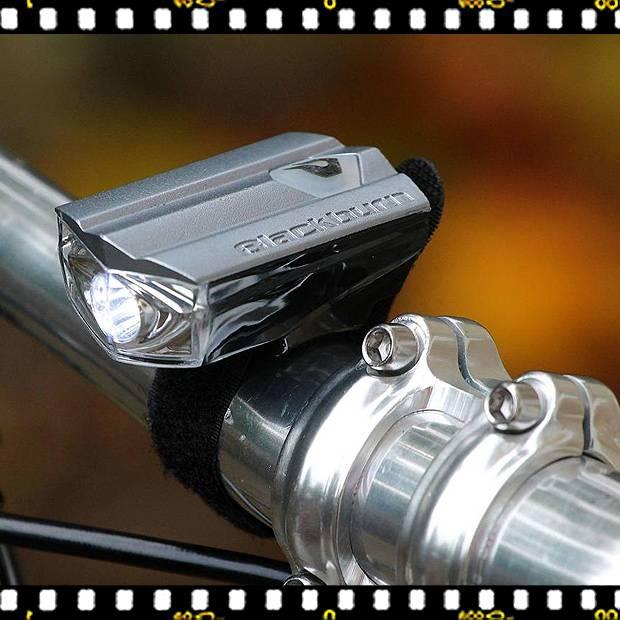 blackburn super flea első bicikli lámpa kormányon