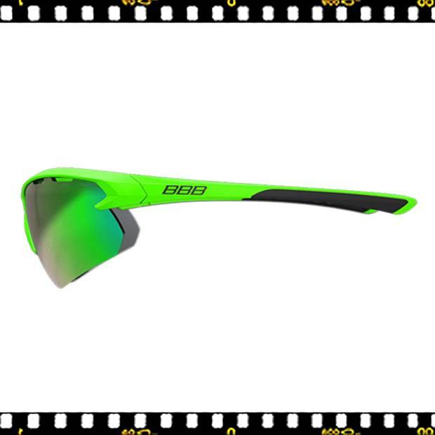 bbb impulse zöld biciklis szemüveg oldalt