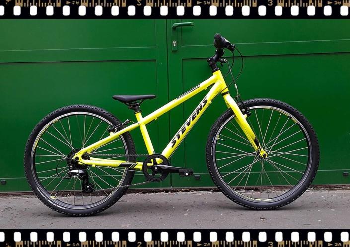 stevens beat mtb junior kerékpár sárga