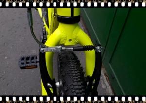 stevens beat mtb junior kerékpár sárga fék