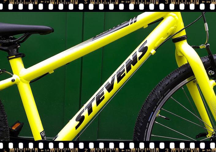 stevens beat mtb junior kerékpár sárga váz
