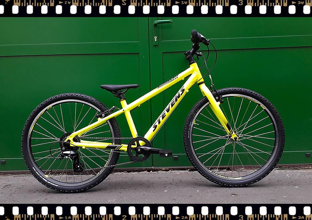 stevens beat mtb junior 24-es kerékpár sárga