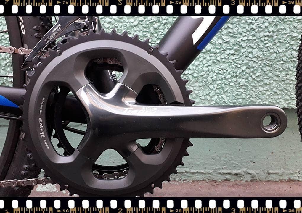 stevens tabor országúti kerékpár tiagra hajtómű