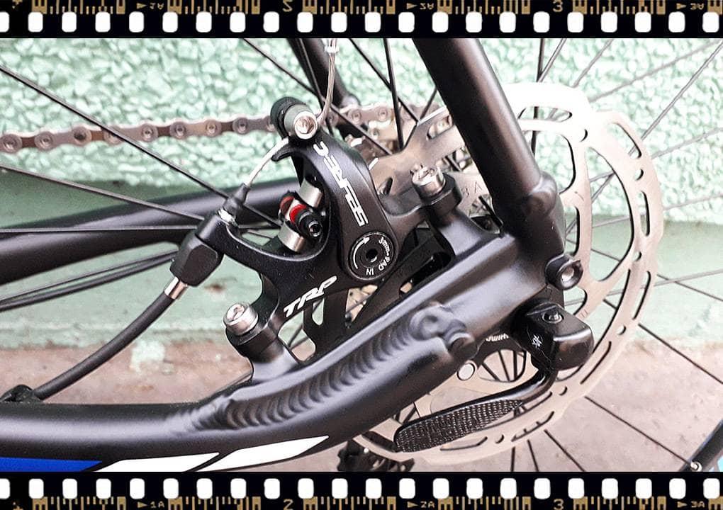 stevens tabor országúti kerékpár hátsó váltó