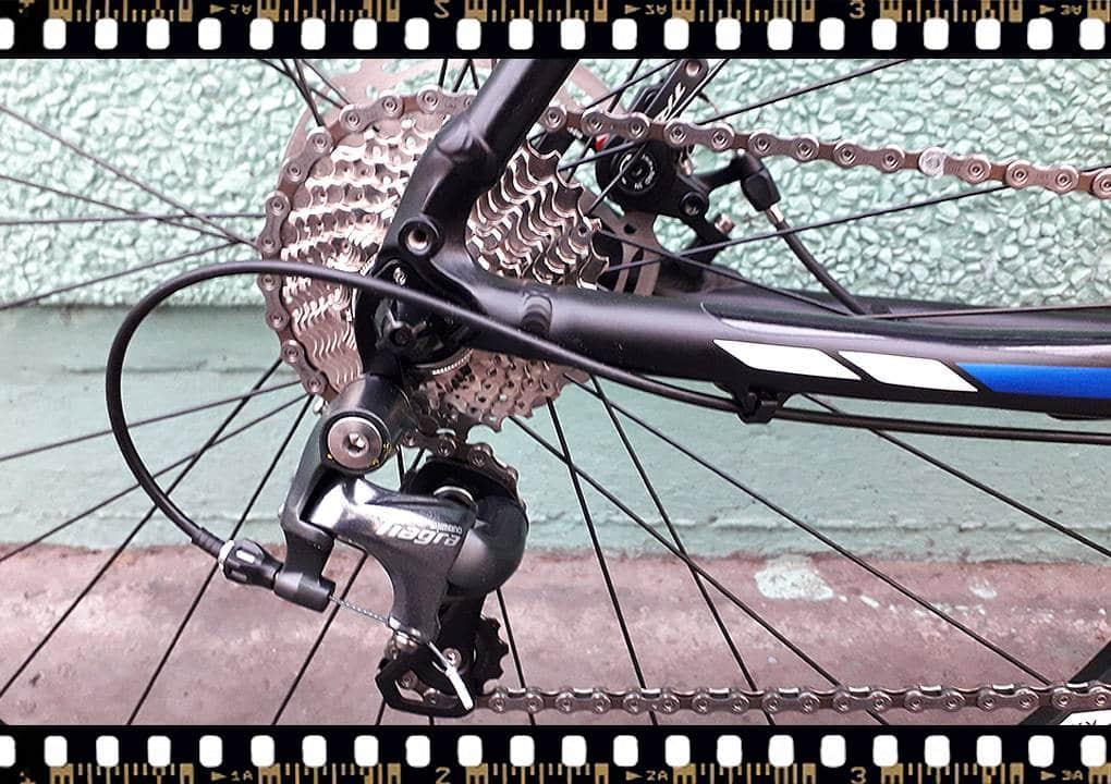 stevens tabor országúti kerékpár váltó tiagra