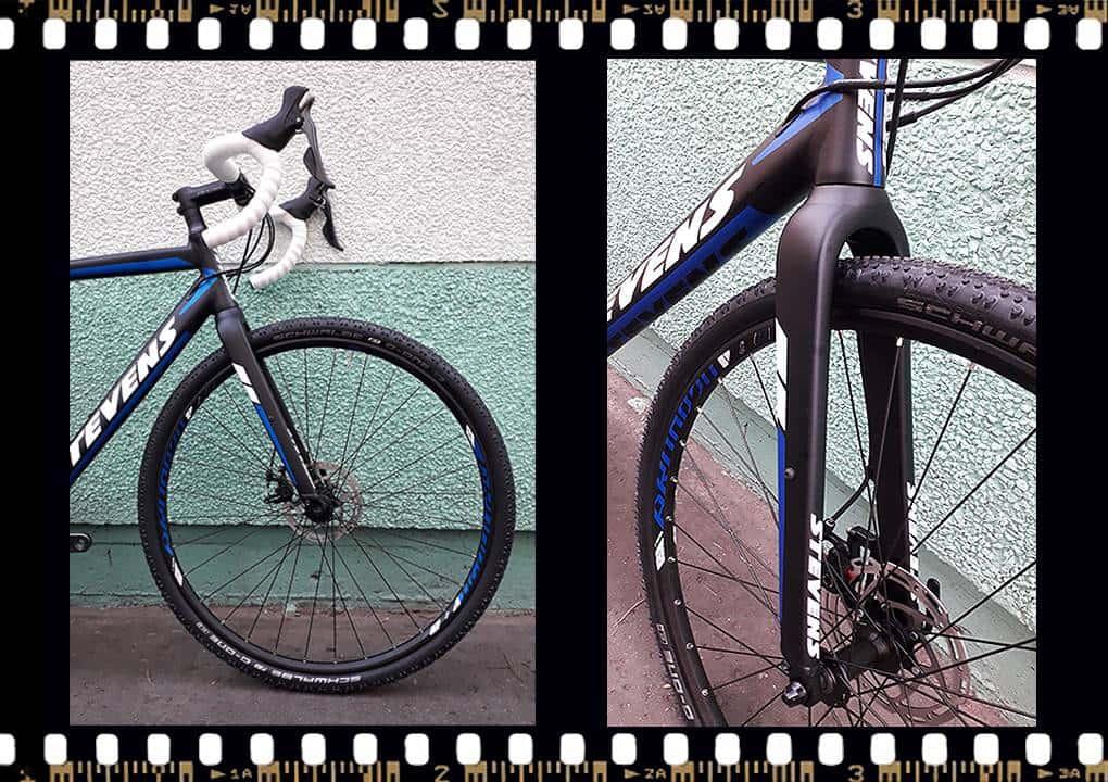 stevens tabor országúti kerékpár első villa