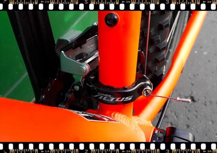stevens tonga xc alloy kerékpár altus váltó