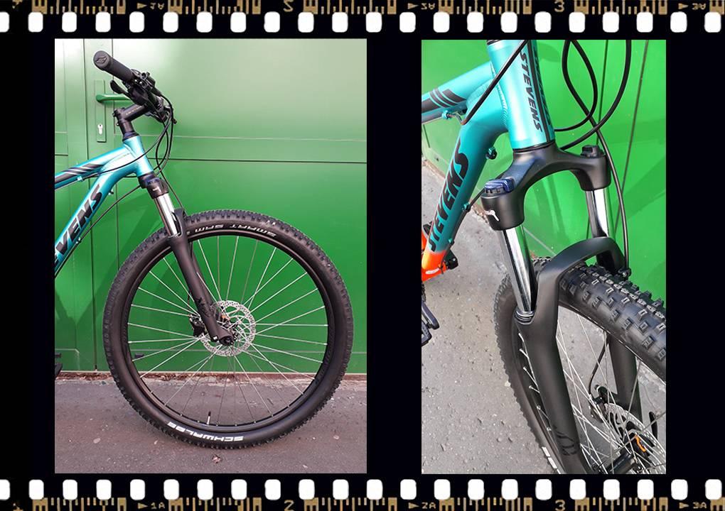 stevens tonga xc alloy kerékpár első kerék