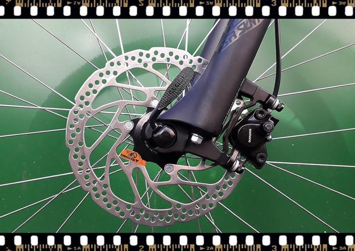stevens tonga xc alloy kerékpár első tárcsa