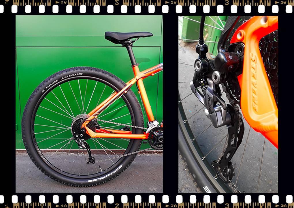 stevens tonga xc alloy kerékpár hátsó kerék