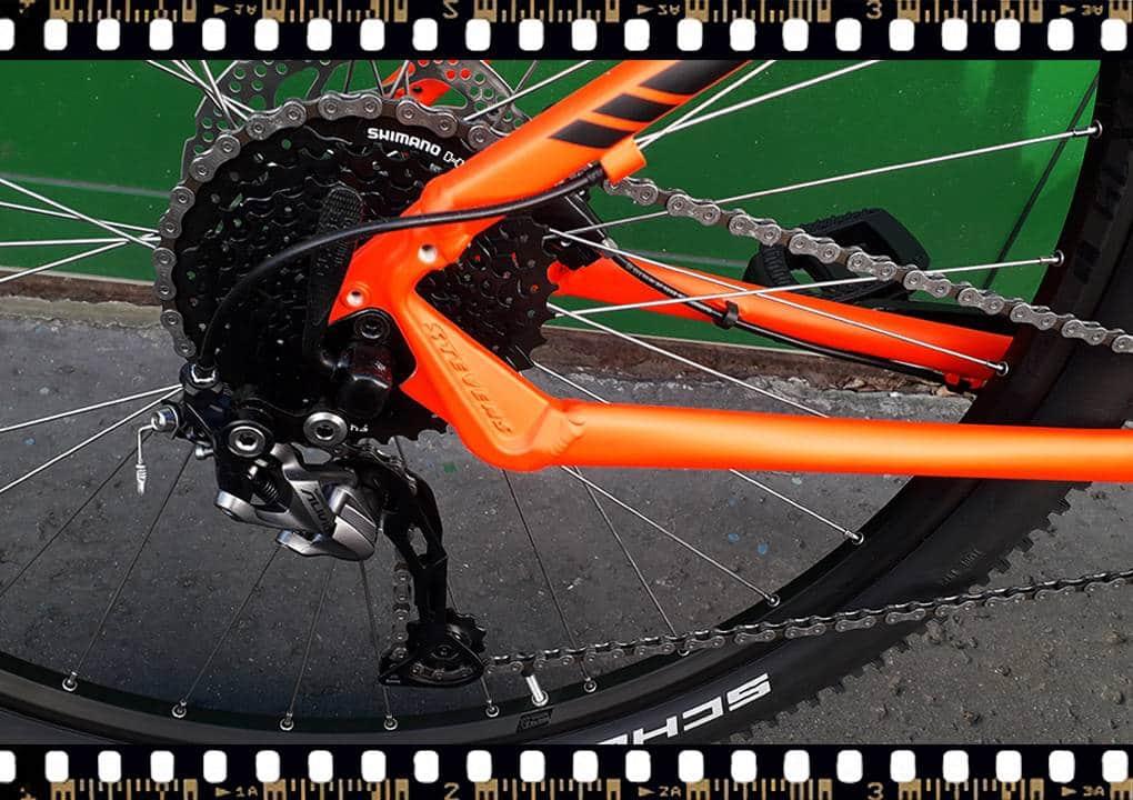 stevens tonga xc alloy kerékpár hátsó váltó