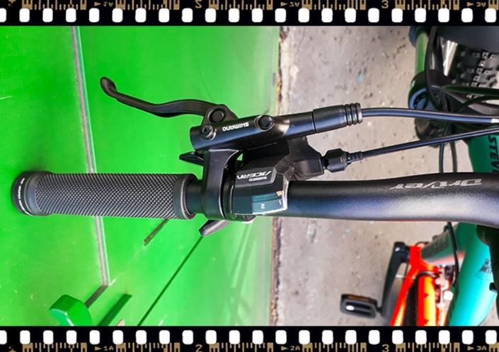 stevens tonga xc alloy kerékpár váltókar