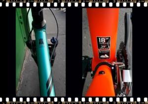 stevens tonga xc alloy kerékpár váz méret