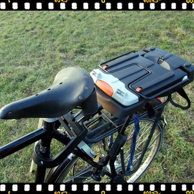 bobike classic biciklis gyerekülés lezárva