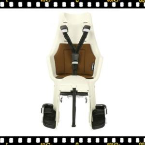 bobike exclusive maxi hátsó kerékpáros gyerekülés fahéj barna előről