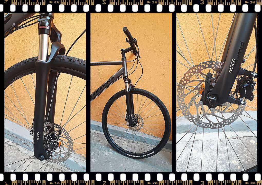 stevens 4x trekking kerékpár tárcsafék